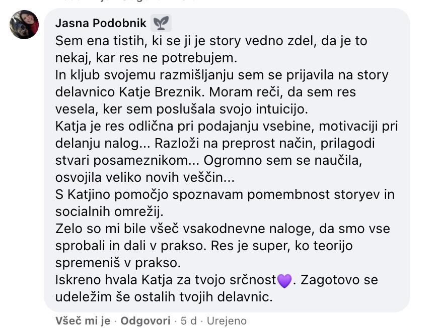story jasna